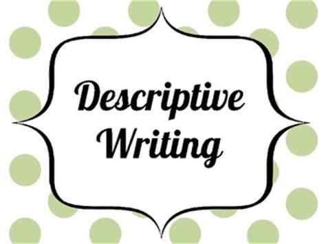 Thesis in a descriptive essay